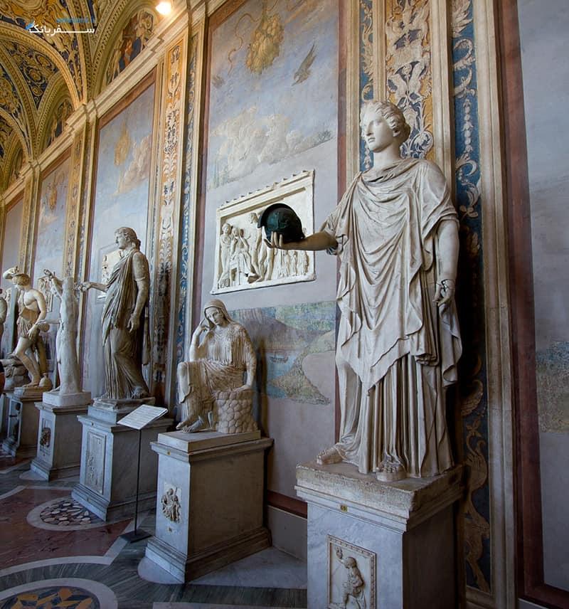 موزه های واتیکان رم، موزه پیو کلمنتینو
