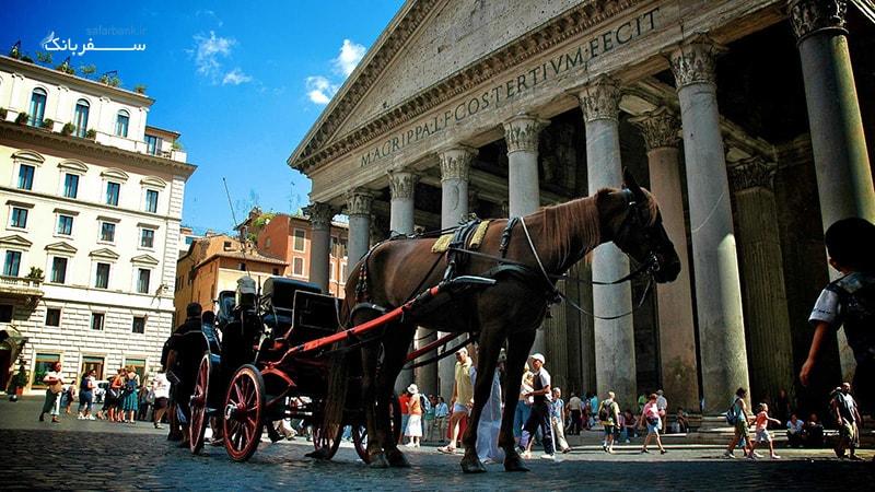 پانتئون در رم ایتالیا
