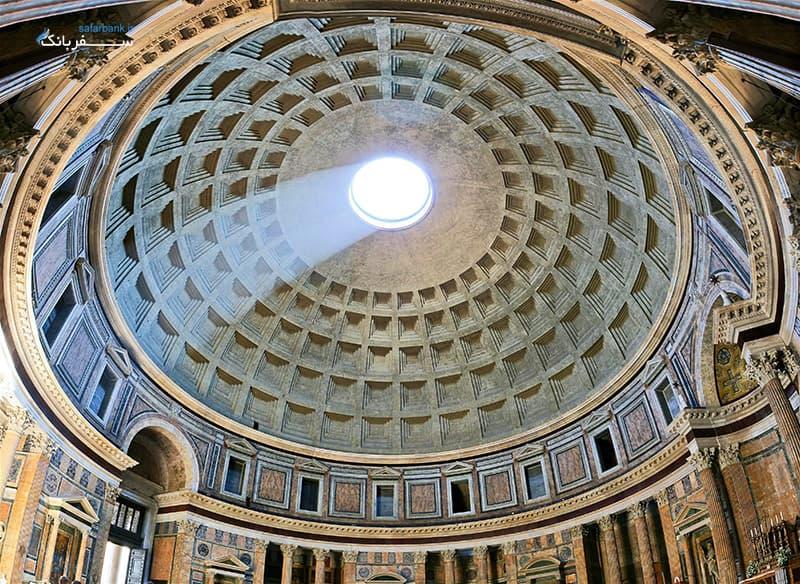 طاق ساختمان پانتئون رم