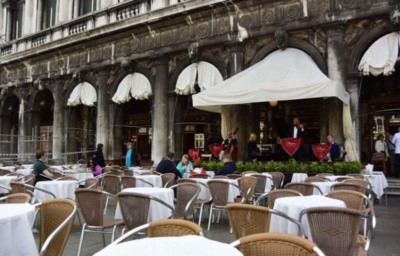 میدان سن مارکو در ونیز ایتالیا
