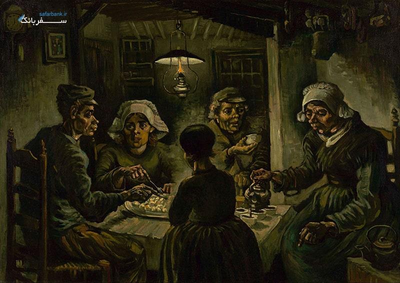 نقاشی های وینسنت ونگوک در موزه ون گوک