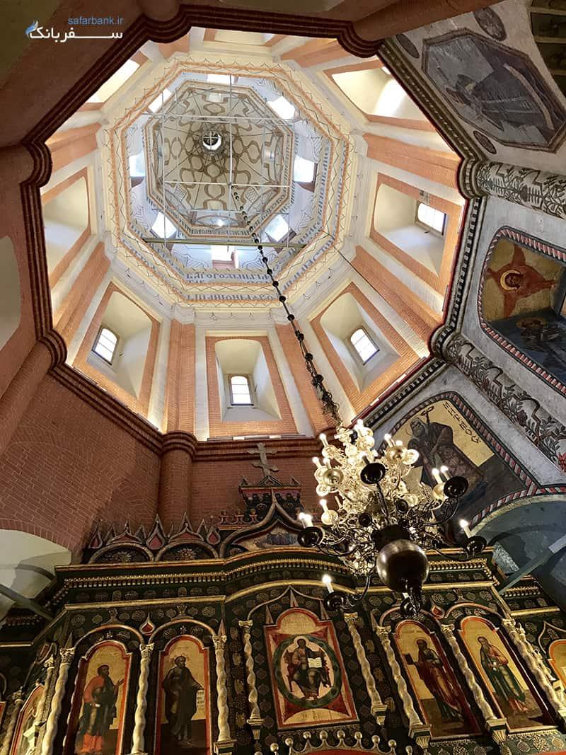 کلیسای جامع سنت باسیل موسکو روسیه