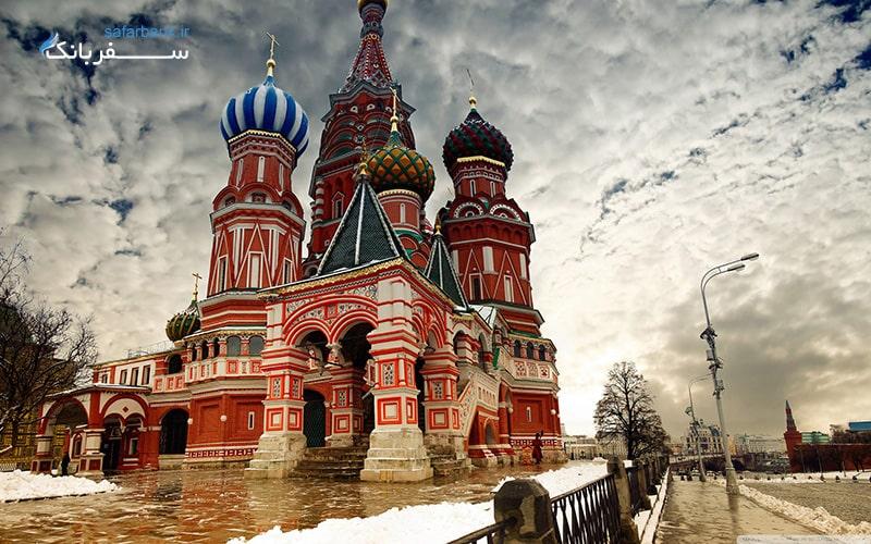 کلیسای جامع سنت باسیل در موسکو