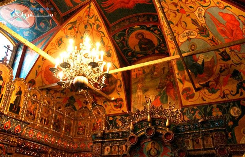 کلیسای جامع سنت باسیل در شهر موسکو روسیه
