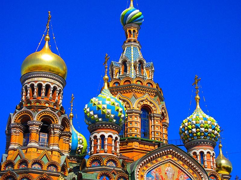 کلیسای ناجی در خون روسیه