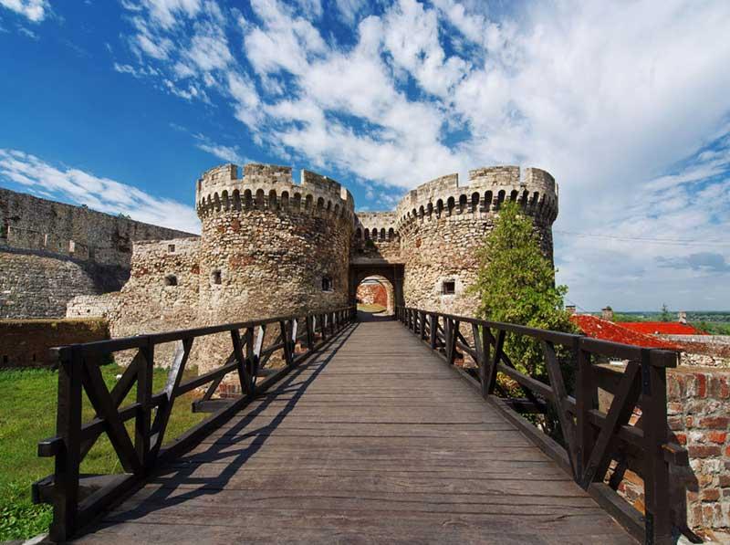 بازدید از قلعه بلگراد در صربستان