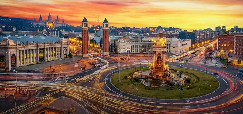 دیدنیهای بارسلونا کجاست