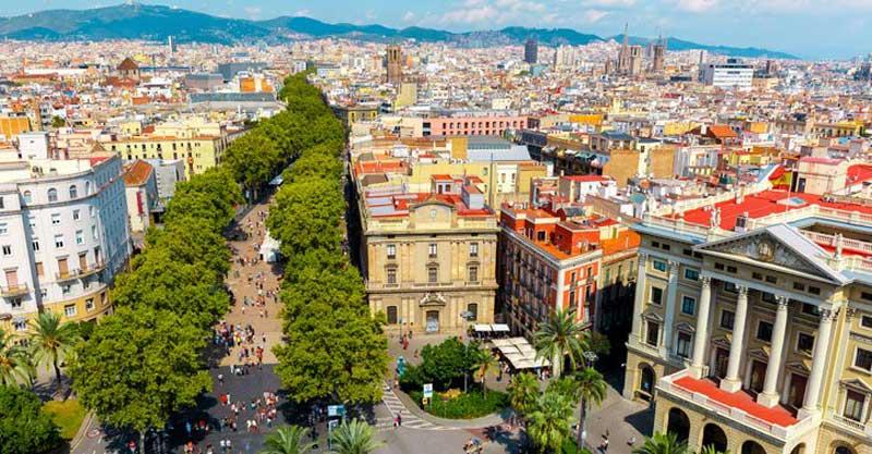 بازدید از شهر بارسلونا