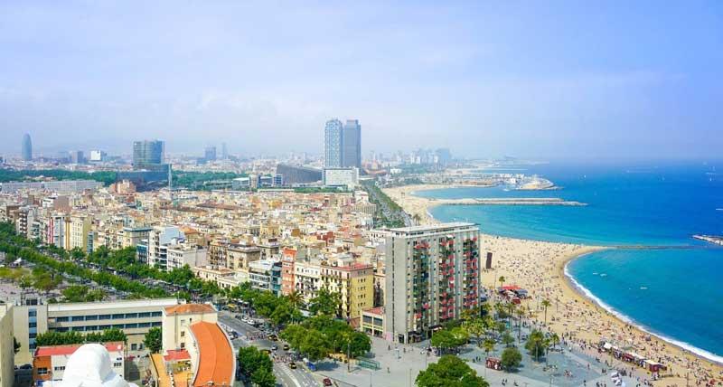 عکس شهر بارسلونا