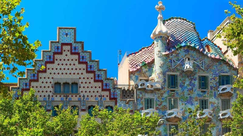 معماری در بارسلونا