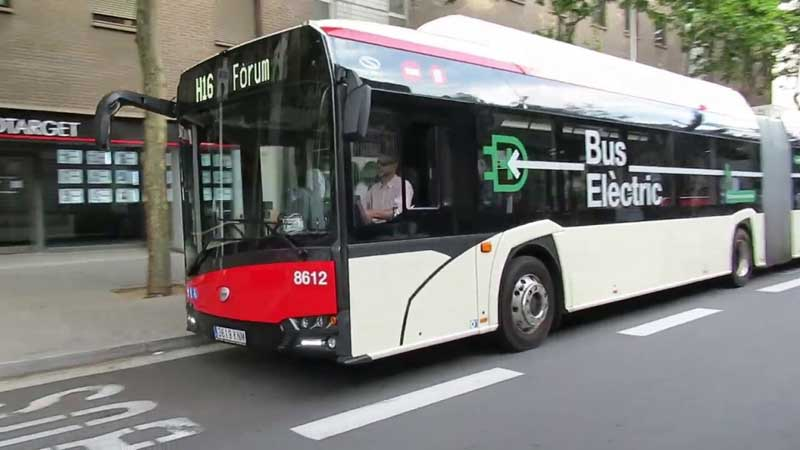 اتوبوس های بارسلونا