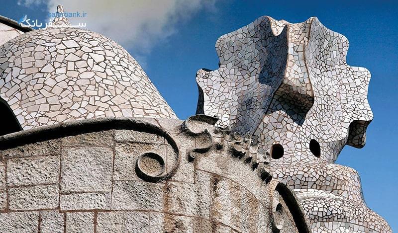 خانه ای دیدنی در اسپانیا و در شر بارسلونا