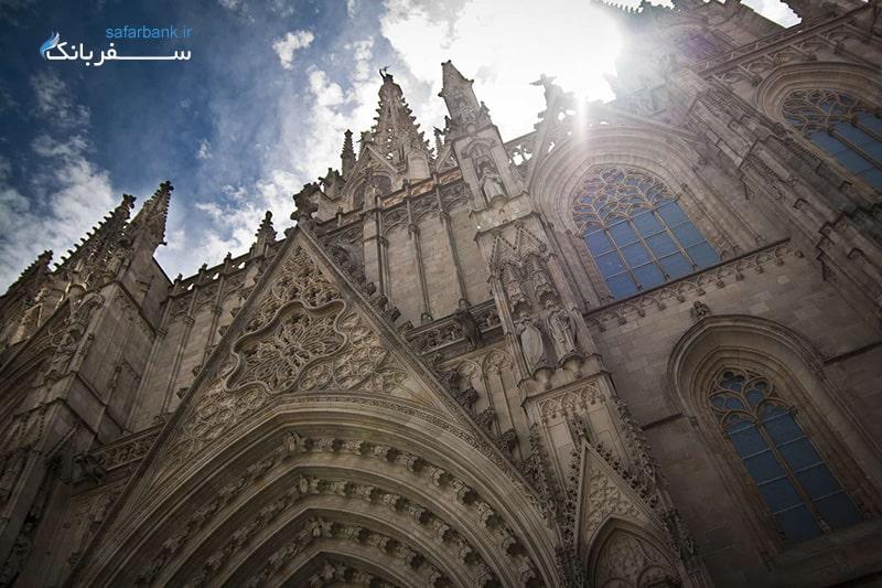 بازدید از کلیسای جامع بارسلونا