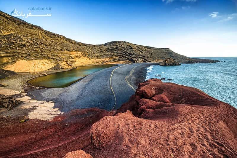 استخر های طبیعی در جزایر قناری