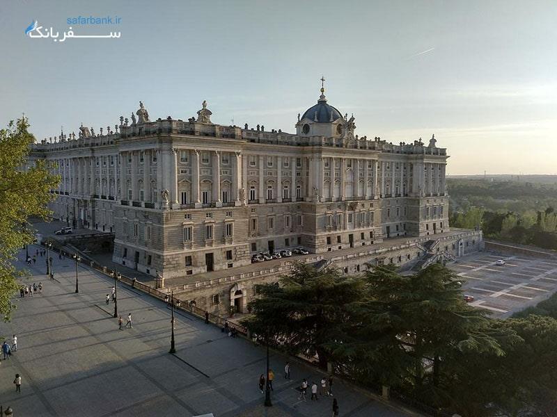 کاخ سلطنتی مادرید در اسپانیا