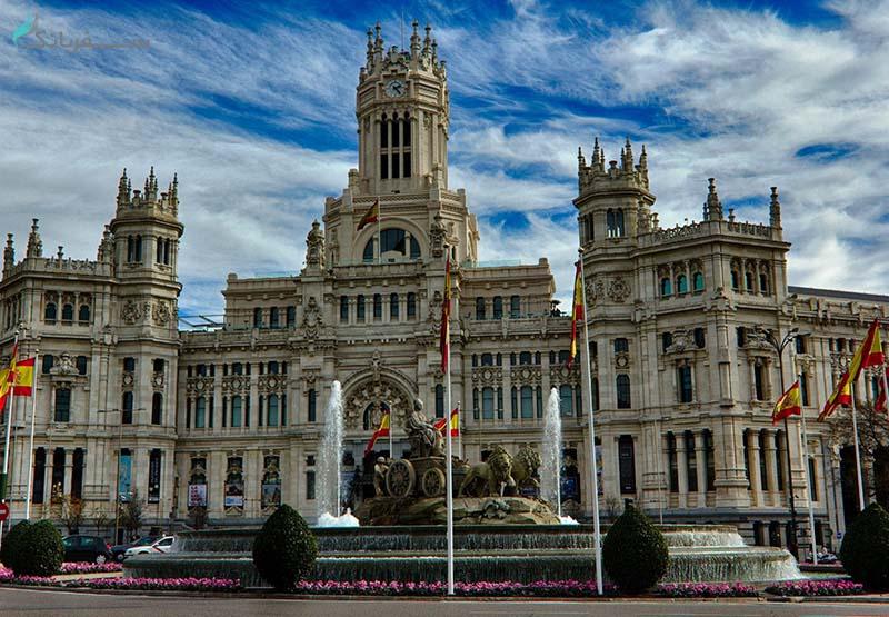 ساختمان شهرداری مادرید