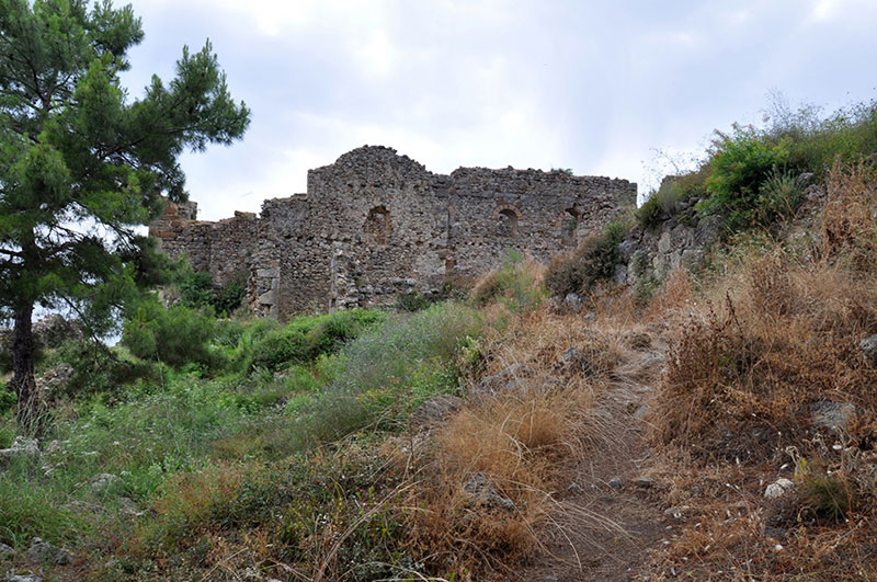 شهر باستانی سیدرا آلانیا