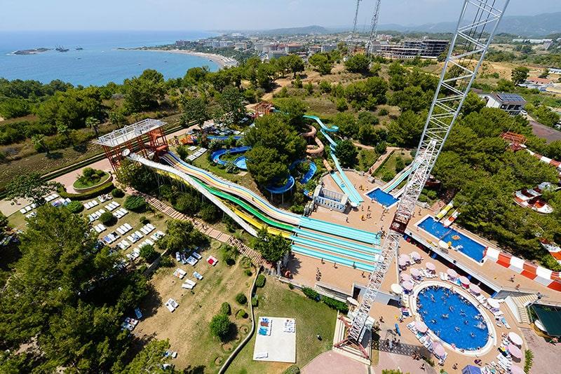 پارک آبی آلانیا بزرگترین پارک آبی منطقه آنتالیا و مدیترانه