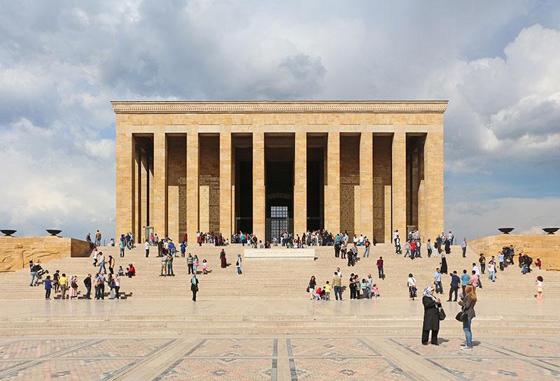 جاهای دیدنی ترکیه، مقبره آنیت کبیر در آنکارا