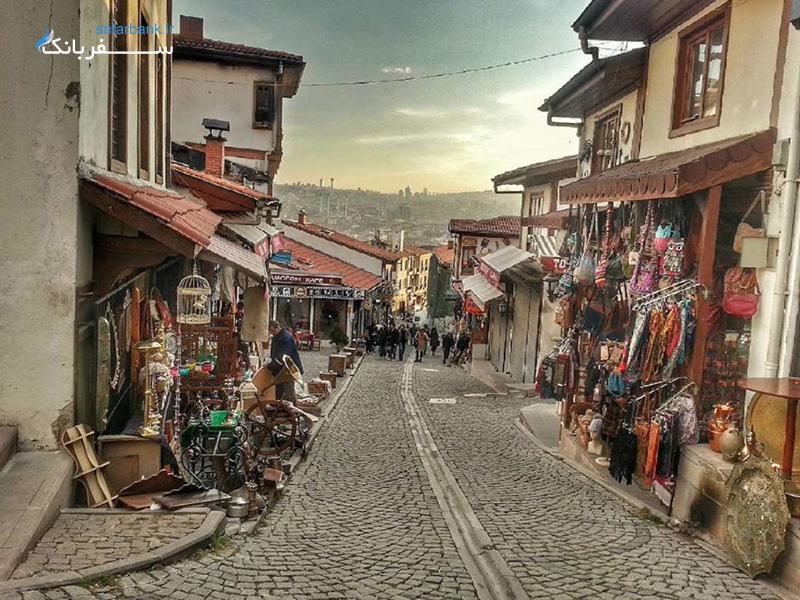 جاهای دیدنی ترکیه، منطقه تاریخی اولوس در آنکارا