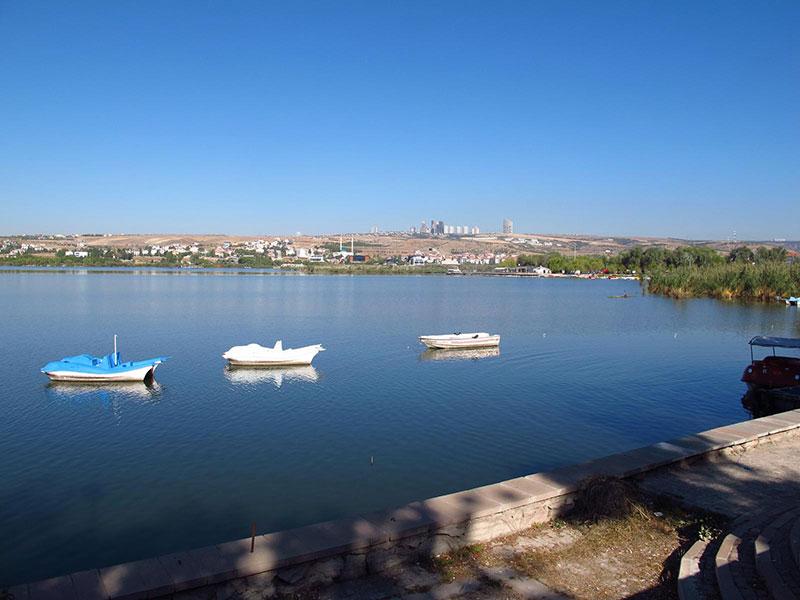 دریاچه موگان در آنکارا