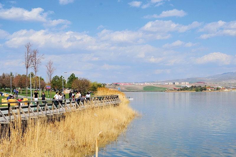 دریاچه موگان در آنکارا ترکیه
