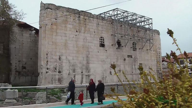معبد آگوستوس در آنکارا