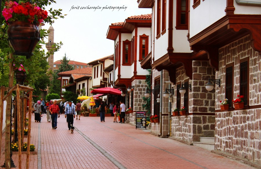 محله قدیمی و تاریخی در آنکارا ترکیه