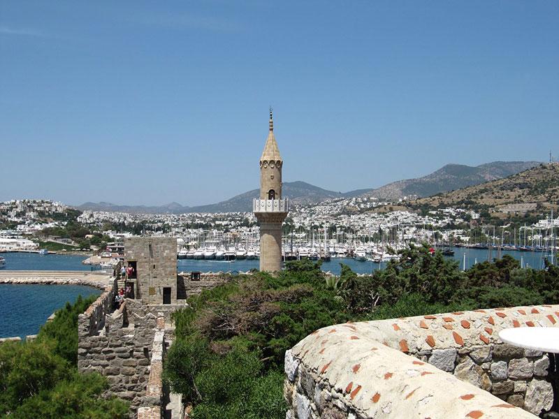 قلعه بدروم در ترکیه