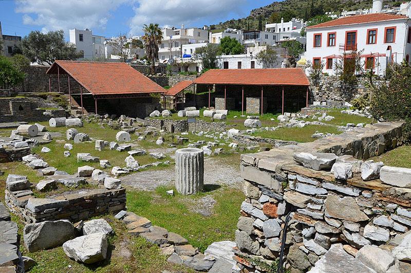 مقبره باستانی هالیکارناسوس در تورهای تفریحی ترکیه