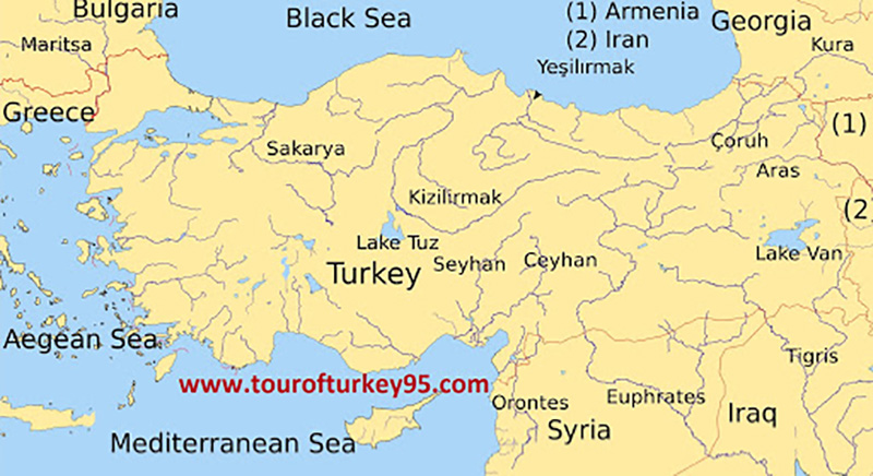 فاصله بدروم تا استانبول