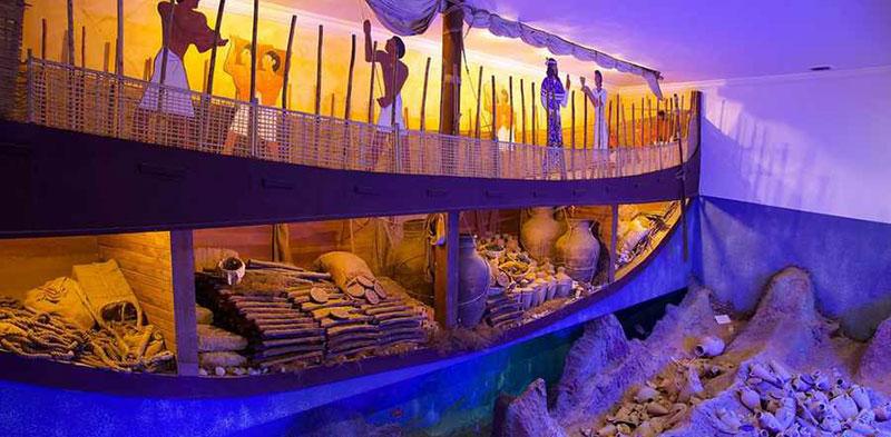 موزه زیر آب شهر یدروم ترکیه