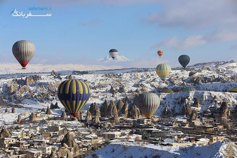 کاپادوکیا در زمستان ترکیه