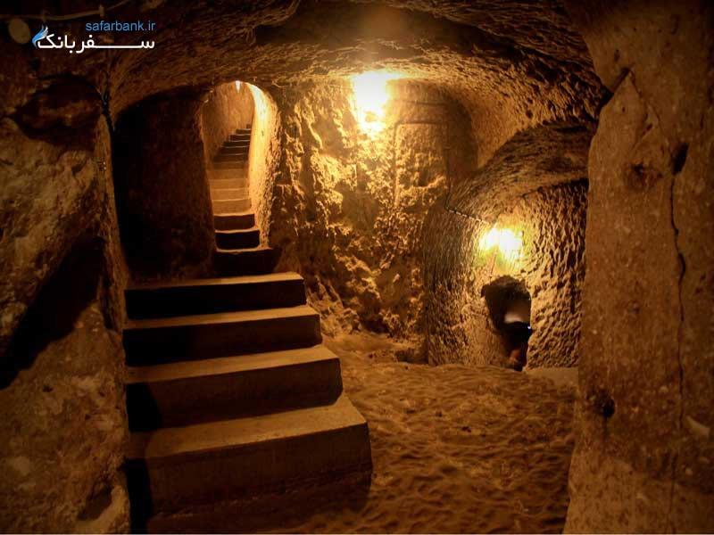 بازدید از شهر های زیر زمینی کاپادوکیا
