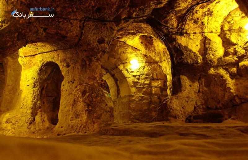 شهر زیر زمینی در ترکیه