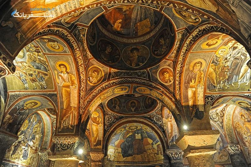 کلیسا های ترکیه کلیسای کاپادوکیا
