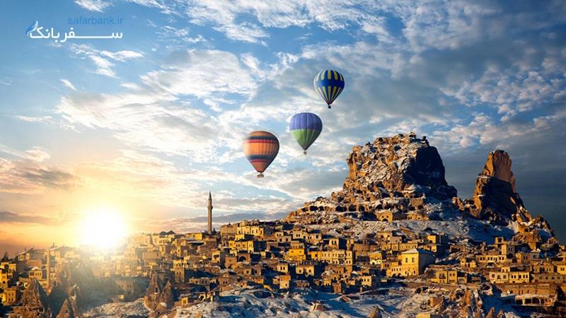 کاپادوکیا ترکیه کلیسا های باستانی