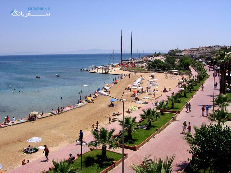 سواحل دیدیم در تور ترکیه