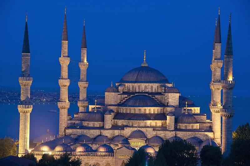 مسجد سلطان احمد در استانبول