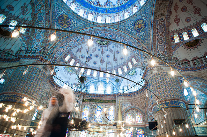مسجد آبی یا مسجد سلطان احمد استانبول