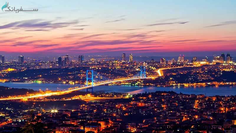 تنگه بسفر در استانبول ترکیه