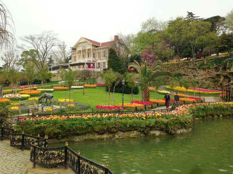 جاهای دیدنی استانبول، پارک امیرگان