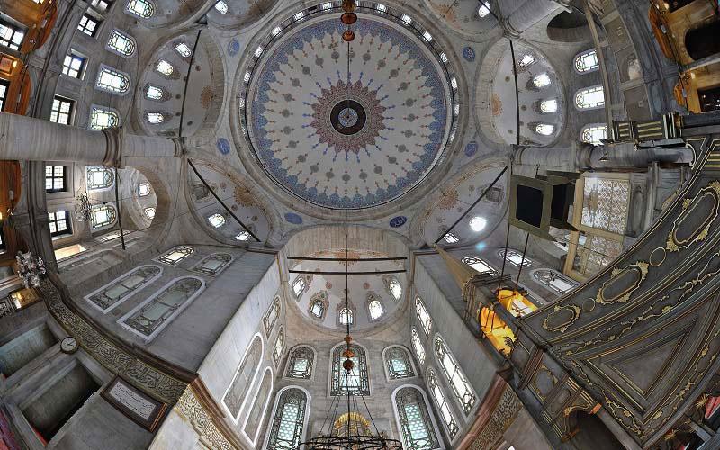 مسجد ایوب سلطان از جاهای دیدنی استانبول