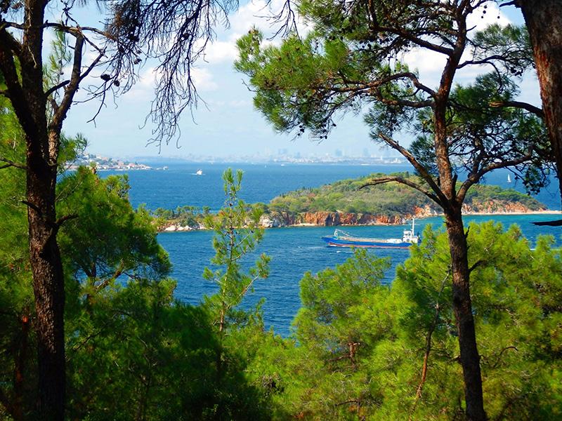 جزیره هیبلی آدا در ترکیه استانبول