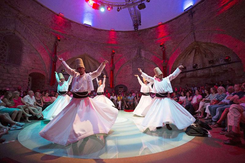 رقص سماع از اماکن دیدنی تور استانبول