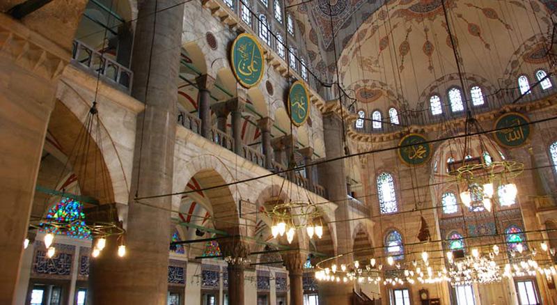 مساجد استانبول از جاهای دیدنی استانبول