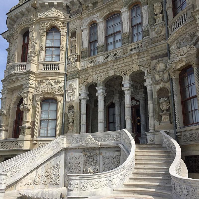 کاخ کوچوکسو و جاهای دیدنی استانبول