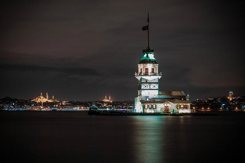 برج دختر در تور استانبول از دیدنی های ترکیه