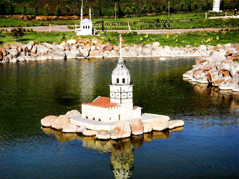 مینیاتورک از جاهای دیدنی استانبول ترکیه
