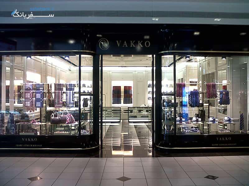 مرکز خرید جواهر استانبول، مغازه های کیف و روسری